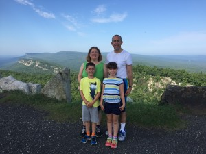 Hiking at Mohonk Mountain House, New Paltz NY